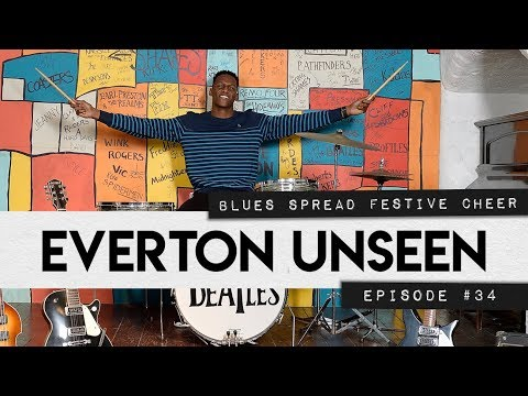 EVERTON UNSEEN #34: YERRY MINA JOINS THE BEATLES + TOFFEES TRAIN AHEAD OF MAN CITY CLASH