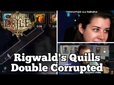 Rigwald's Quills Double Corrupted | Daily Path Of Exile Highlights