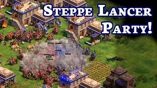 Steppe Lancer Party! | Tatars War | vs Lyx