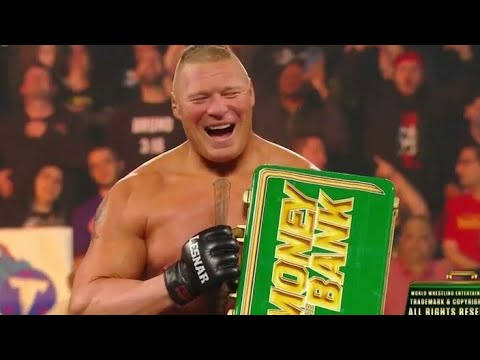 Brock Lesnar Wins Money In The Bank (19 May 2019)