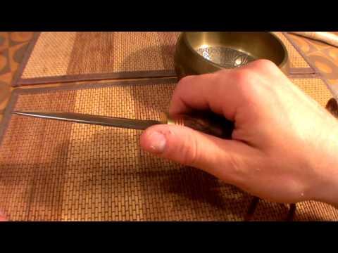 Финский нож из стали Р6М5 (Handmade scandy knife)