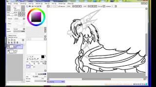I draw Saphira part 2