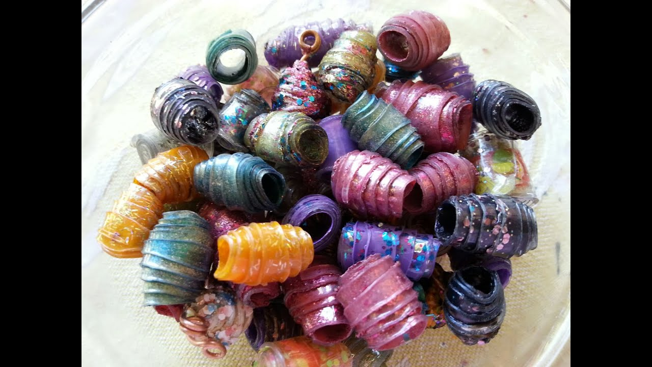 Plastic beads for crafts - Diy Plastic Bottle Beads