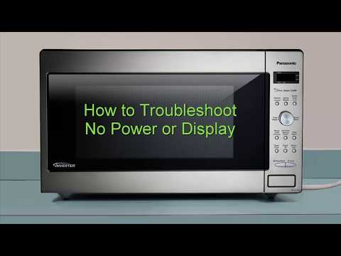 Panasonic Microwave How To