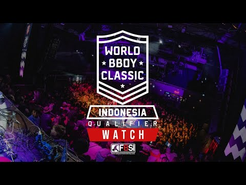 LIVE! WORLD BBOY CLASSIC - INDONESIA QUALIFIER (TOP 16 BREAKING)