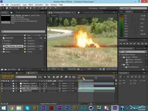 After Effects Basics - Simple Explosion Effect