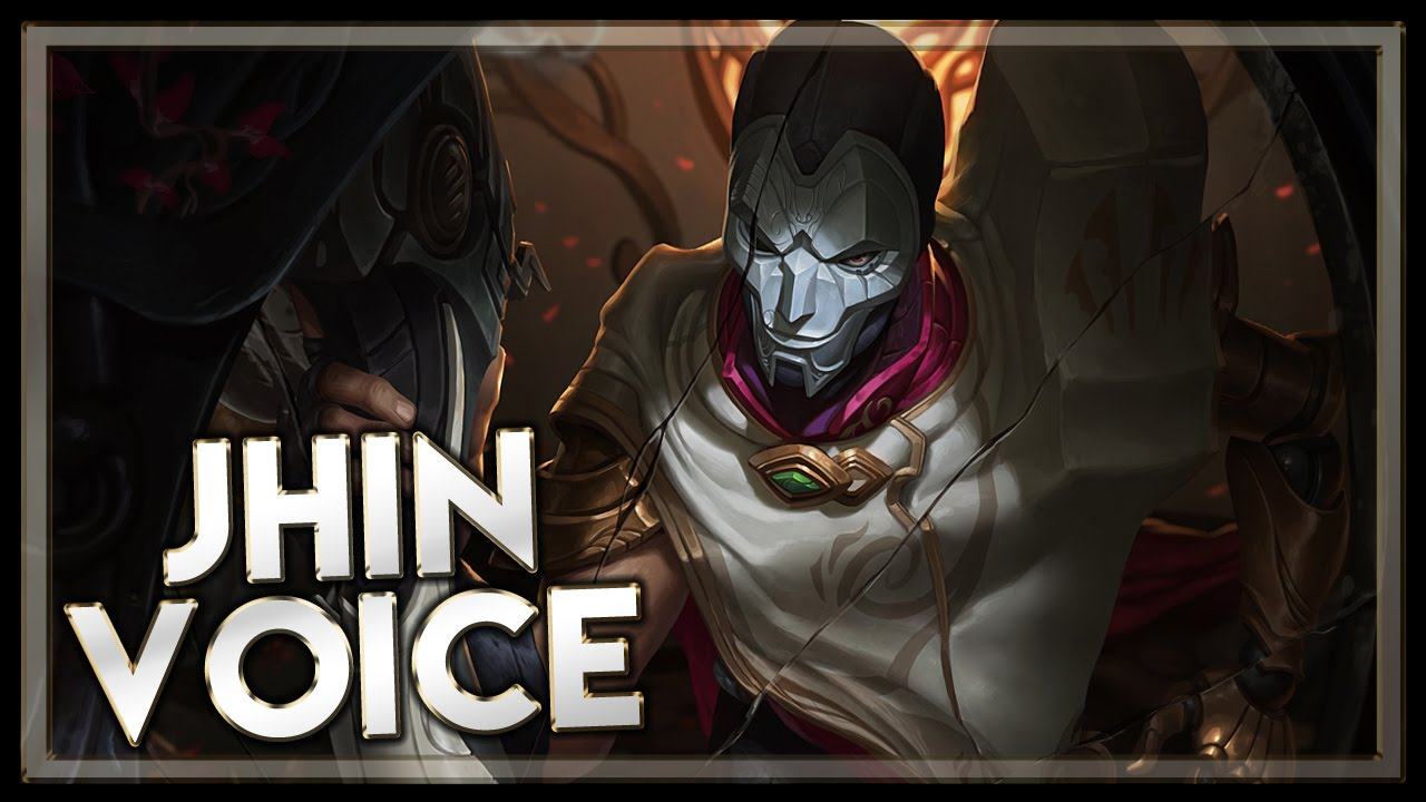 jhin voice league of legends youtube. Black Bedroom Furniture Sets. Home Design Ideas