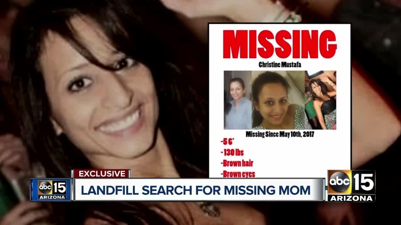 Christine Mustafa Missing Mom S Body Dumped In Phoenix Landfill Cops Believe Boyfriend Faces Murder Charge
