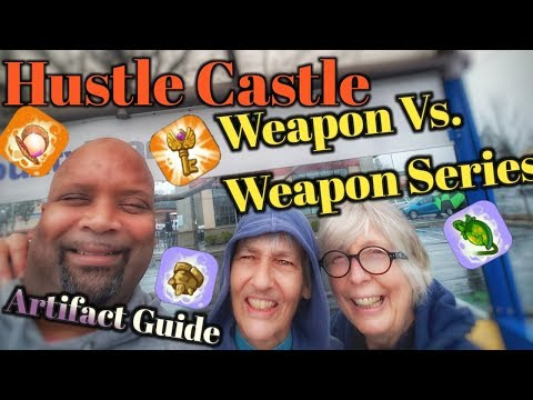 Hustle Castle Artifact Guide #1|  Weapon Vs. Weapon  Ep. 3 | Book 3 Chp 20 |