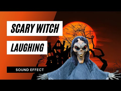 Scary Witch Laugh - Sound Effect - Animation