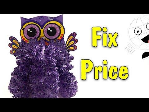Игрушки Слаймы и Кристаллы из Fix Price