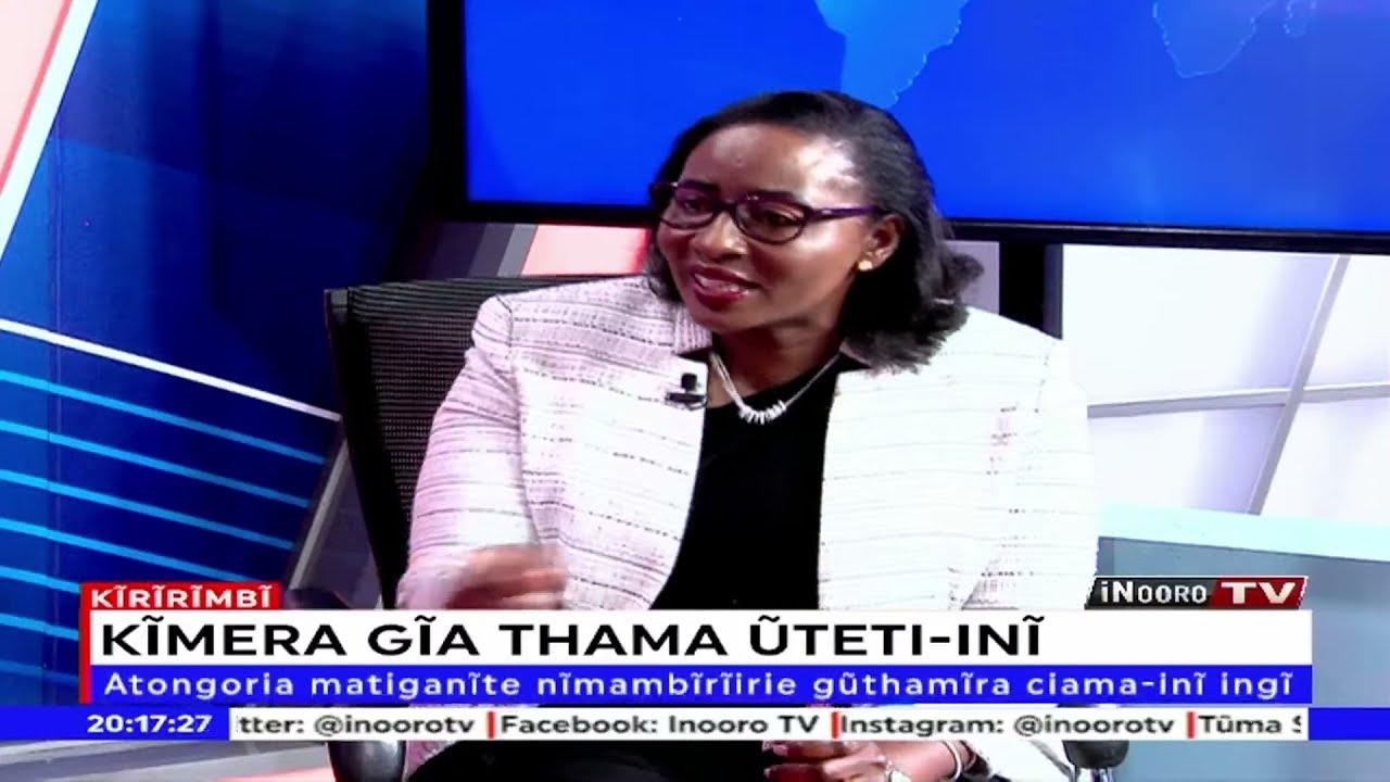 Download Ruto ahota agakorwo ahana Kibaki, agakorwo atarĩ na ambunge – Beatrice Elachi