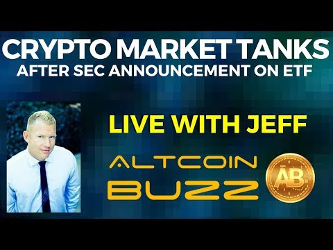 Crypto Market Tanks After SEC Announcement on ETF
