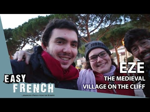 Eze, the medieval village on the cliff | Super Easy French 26