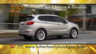 Huge Buick Savings All December at Luther Family Buick GMC!