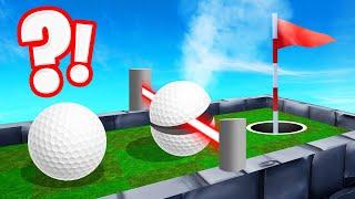 GOLF BALL vs. LASER BEAM TROLL! (Golf It)