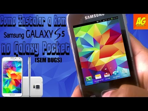 Como Instalar a Rom do Galaxy S5 no Galaxy Pocket [SEM BUGS][ATUALIZADO]