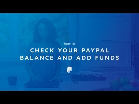 How to add money in paypal account from bank