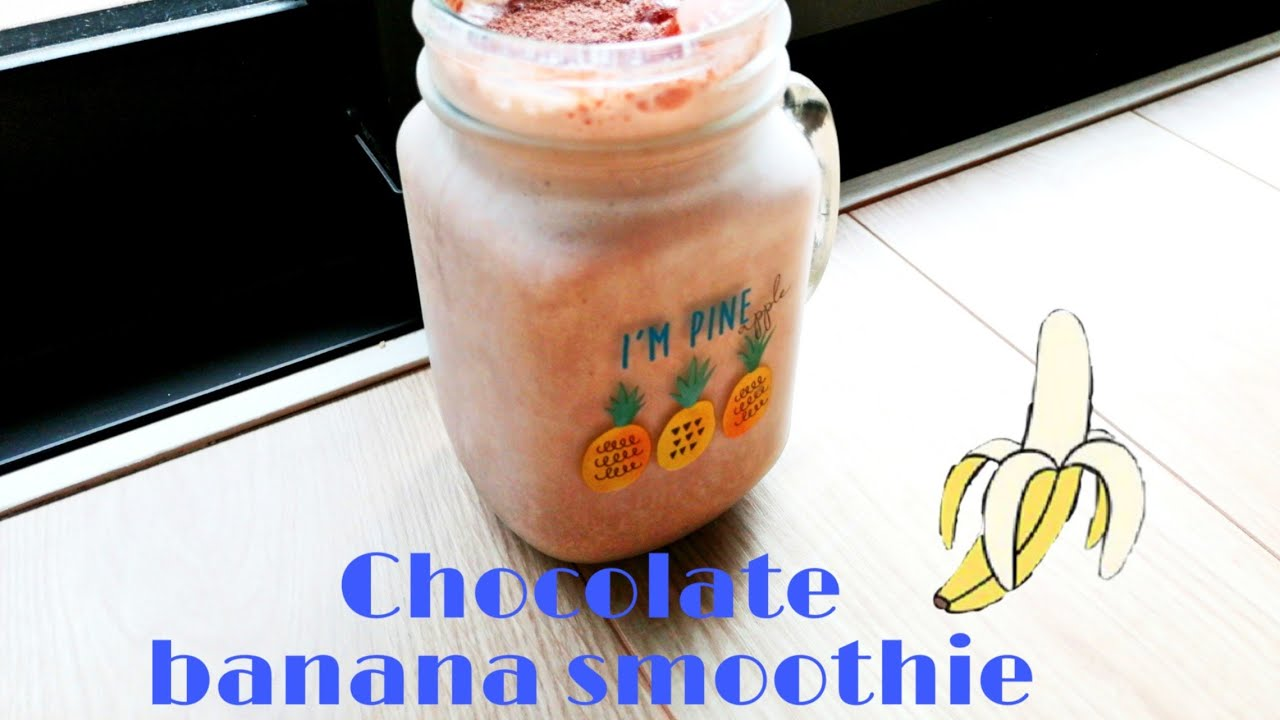 Chocolate banana smoothie for weight loss