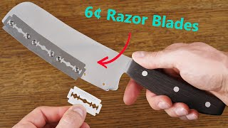 Making a Knife with Replaceable Blades