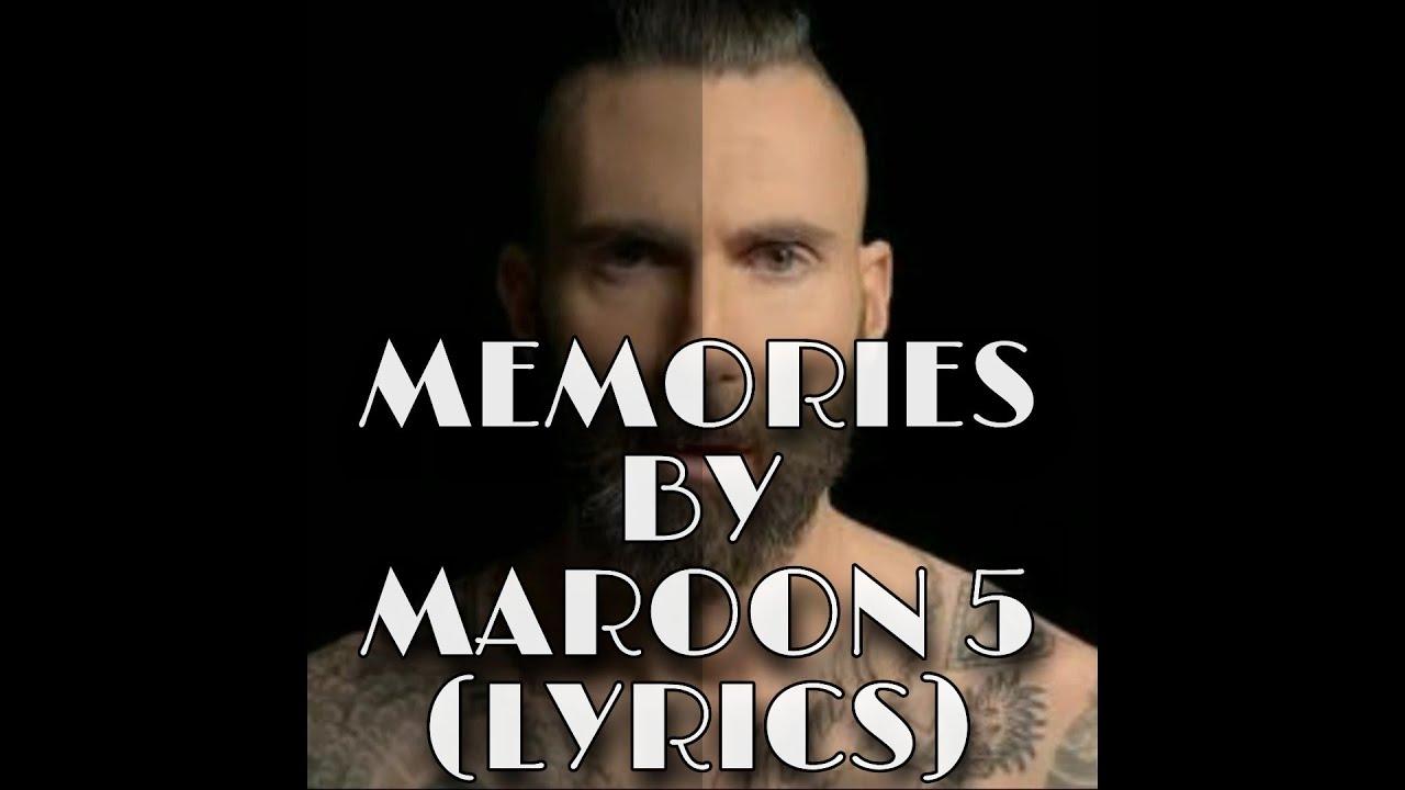 Maroon 5-Memories (Lyrics)/ song lyrics - YouTube