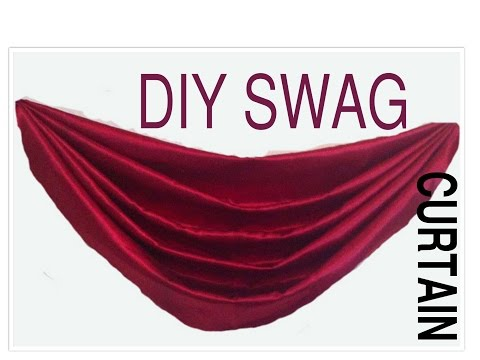 DIY Swag Curtain pattern,Point to point  swag