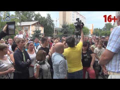 В Среднеуральске прошел сбор жителей против иммигрантов.