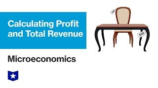 Calculating Profit and Total Revenue | Microeconomics