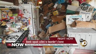 Bomb squad called to hoarder's home