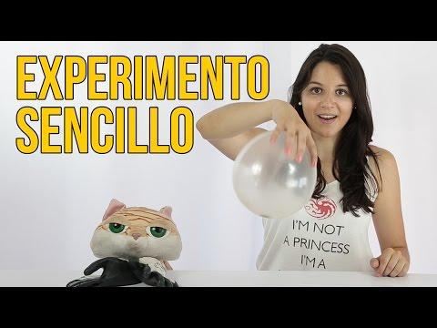 Experimento Sencillo Con Un Globo (Experimentos Para Niños)