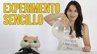 Experimento Sencillo Con Un Globo (Experimentos Para Niños) thumbnail