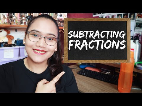 Subtracting Fractions - Civil Service Exam Review