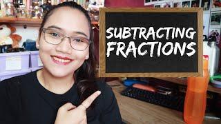 Subtracting Fractions - Ciטil Service Exam Review