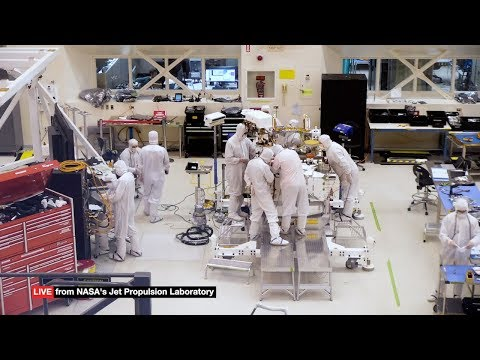 NASA set up a webcam so you can watch them build the Mars 2020 rover