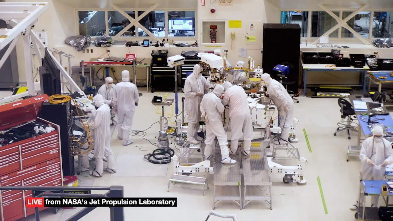 You Can Watch NASA's Build Its Mars 2020 Rover Live Online