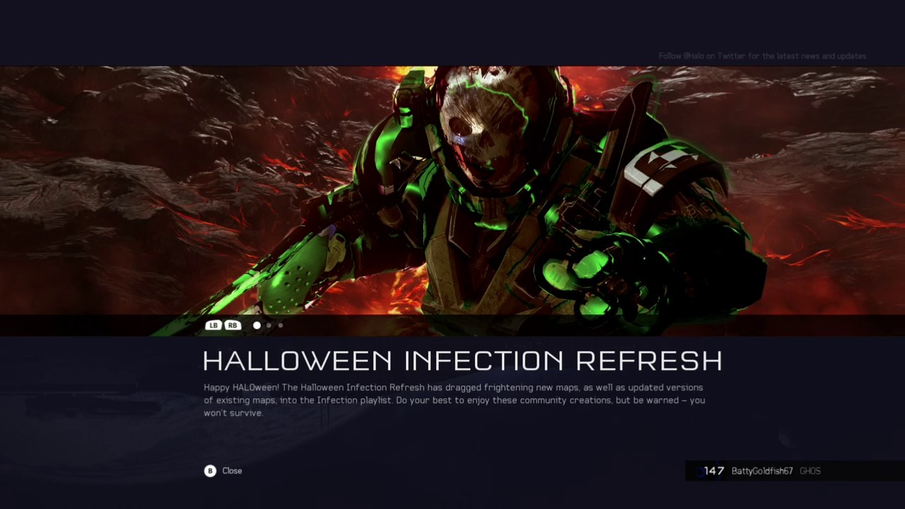 halo 5 guardians new halloween infection refresh - Halloween Halo