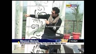 Pakistani pop singer Falak Shabir in Chandigarh for a live concert at GMCH-32