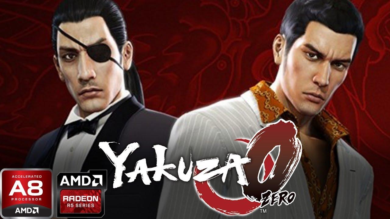 Yakuza 0 On Lenovo G40-45 (AMD A8 6410, AMD R5 M330)