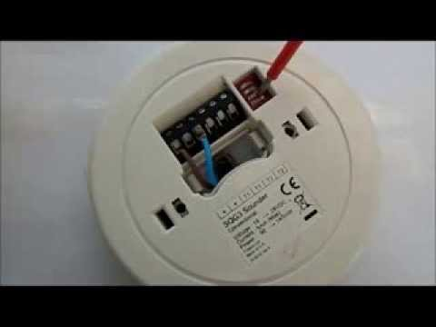 hqdefault cooper fulleon sq g3 (squashni) new style fire alarm sounder base menvier smoke detector wiring diagram at bakdesigns.co