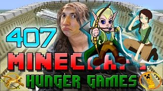 Minecraft: Hunger Games w/Mitch! Game 407 - Legolas vs Katniss!