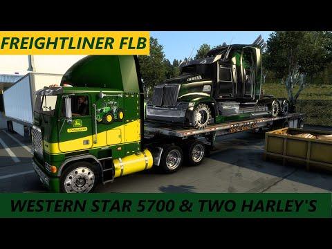 American Truck Simulator Freightliner FLB |