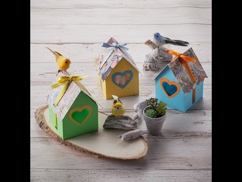 Canvas Project: Birdhouse Gift Box