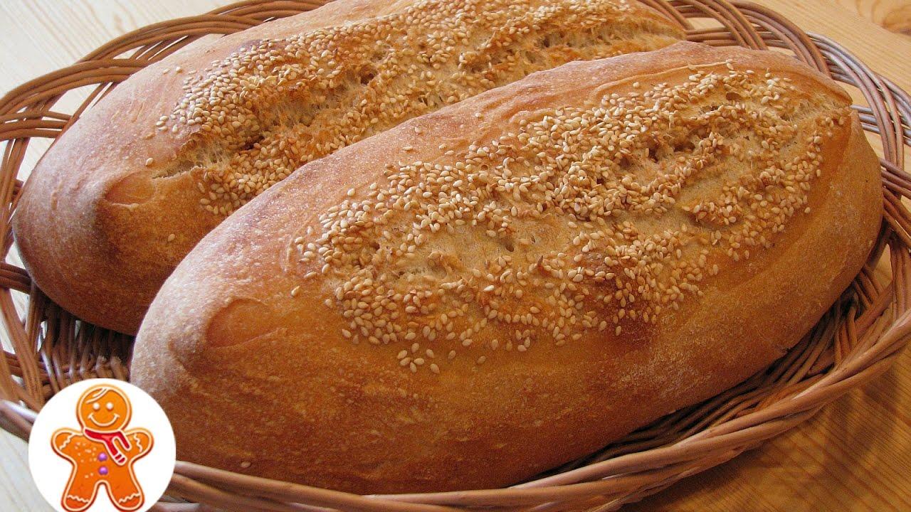 Хлеб с кунжутом на закваске (Pain de Beaucaire)