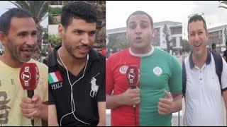 توقعات الشارع البيضاوي لنتيجة مباراة المنتخب المغربي أمام جزر القمر ورأيهم في لائحة هيرفي رونار.