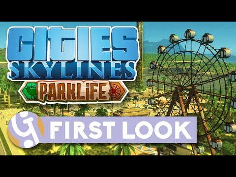 🌳 A New Theme Park!   Let's Play Cities: Skylines Parklife #01