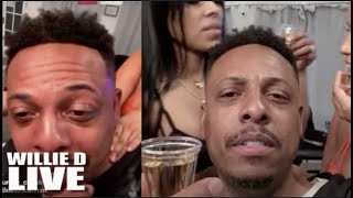 Kyle Kuzma Call Paul Pierce A Sicko After Paul Was On Live With 10 Women Partying Like GTA Vice City