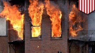 Двое пожарных погибли на тушении огня в Бостоне