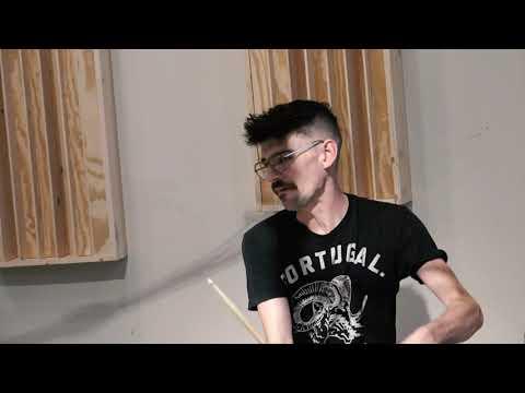 "Steve Maxwell Vintage Drums  Gretsch 22/13/16"" 50&39;s 3Ply Plus Zildjian 20 Constantinople 1874g"