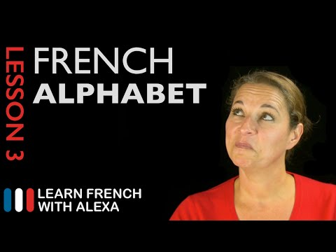 The French Alphabet (French Essentials Lesson 3)