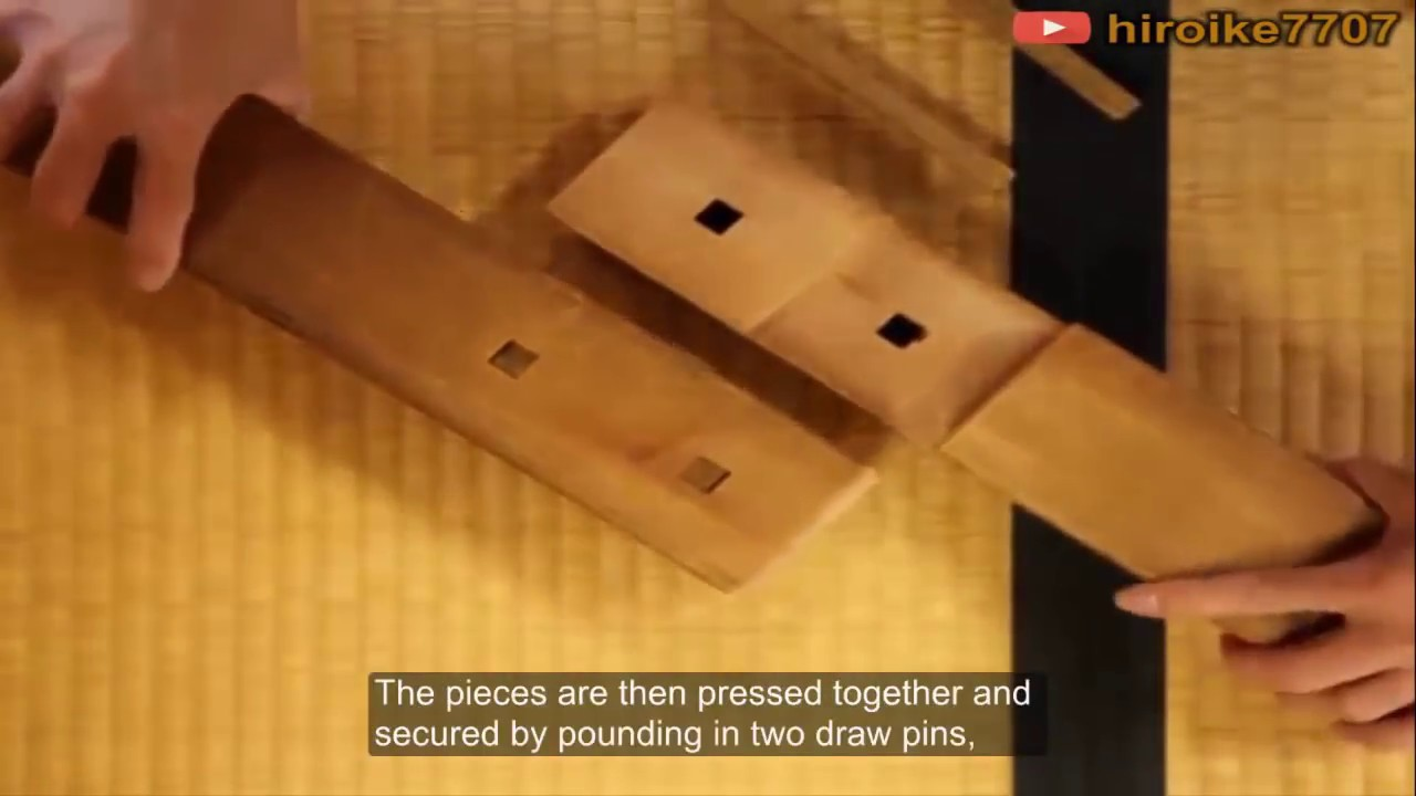 Typical Joints Created The Amazing Of Traditional Japanese Wood